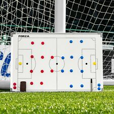FORZA 36in x 24in Football Coaches Tactics Board - Double-Sided Wipeable Board