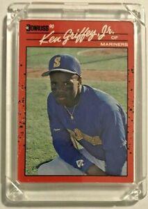 Ken Griffey, Jr. 1990 Donruss Card # 365 Seattle Mariners MLB RARE