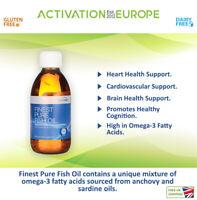 Pharmax - Pure Fish Oil (200 ml) - Orange flavouring.