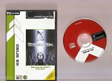 DEUS EX. EXCELLENT SHOOTER/RPG/ACTION/ GAME FOR THE PC!!