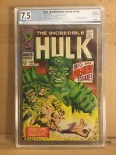 Incredible Hulk  #102 1st Issue PGX 7.5 Not CGC
