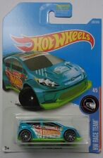 2017 Hot Wheels HW RACE TEAM 4/5 '12 Ford Fiesta 307/365 (Aqua Version)