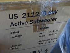 Teufel US 2112/8 SW Subwoofer schwarz 5.1 Option 700 Watt 300-mm-Tieftöner