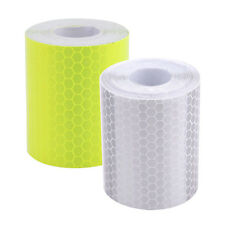 3M Silver White Reflective Safety Warning Conspicuity Tape Film Sticker CA