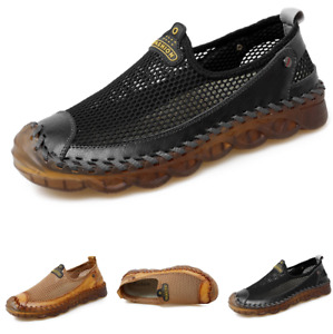 Large Size Mens Driving Moccasins Shoes Pumps Slip on Loafers Walking Sports L