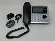 Vtech Digital Answering System With Caller ID Corded Phone Base Tested A