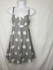 Victorias Secret PINK Dress With Belted Size XS Polka Dots