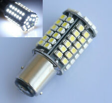 2X 1157 BAY15D 80 LED 3528 SMD White Car Tail Parking Stop Light Bulb Lamp