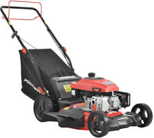Self Propelled Lawn Mower Gas Powered 21 Bag Discharge Mulch Height Adjustable