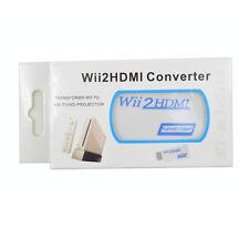 Nintendo Wii 720P/1080P HDMI AV convertitore-Adattatore video HD esclusivo