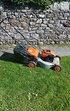 Flymo quicksilver self propelled petrol lawnmower  Brigg & Stratton 4 stroke