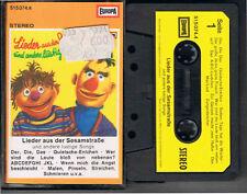 MC/ Lieder aus der Sesamstraße -  Europa  MC