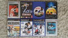 Playstation 2 Ps2 Spielesammlung Spiele Gran Turismo Fifa Stuntman NHL TOP