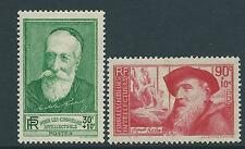 FRANCE 1937 UNEMPLOYED INTELLECTUALS SG576-77 SET 2 MLH.