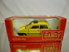 DANDY TOMICA 023 HONDA CITY - JAZZ - YELLOW 1:43 RARE - EXCELLENT IN BOX