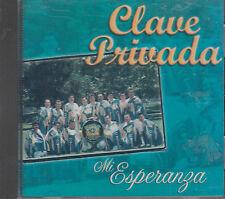 Clave Privada Mi Esperanza New Nuevo Sealed