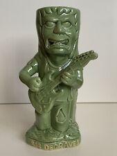ROB DEGRAVES Tiki Farm Mug FENDER GUITAR Zombie GREEN Hawaiian NEW! Rare 🗿