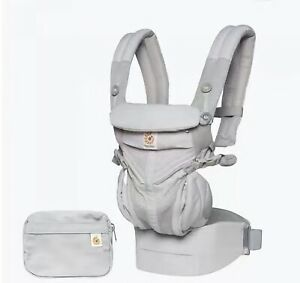 Ergobaby Omni 360 Cool Air Mesh 4 Position Baby Carrier preorder sale Pearl Grey
