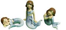 Ganz Collectible Fairy Garden Mermaids Set of 3