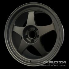 "18"" ROTA Slipstream R 5/114.3 +35 Matt Black WHEELS RIMS FORD, TOYOTA, HONDA"