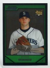 2007 Bowman Chrome Draft BRANDON MORROW Rookie Card RC #13 Chicago Cubs PROSPECT