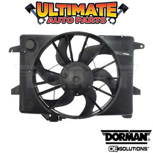 Radiator Cooling Fan (4.6L V8) for 98-00 Ford Crown Vic Victoria