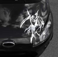 Autoaufkleber Totenkopf Sensenmann Sticker Auto Aufkleber Autosticker JDM OEM