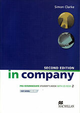 Macmillan IN COMPANY 2nd Edition Pre-Intermediate Student's Book with CD-ROM New