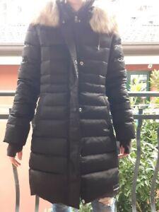 Calvin Klein Jeans, piumino donna in piuma d'oca, nero,Tg S. Condizioni perfette