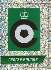 N°021 LOGO BADGE # CERCLE BRUGGE FOOTBALL BELGIQUE 2014 PANINI STICKER