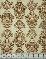 FAT QUARTER HEATHER BAILEY  FREE SPIRIT DAMASK  Cotton Fabric NOW £2.49 F//Q