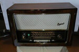 Top Zustand! Roehrenradio Telefunken Opus 7