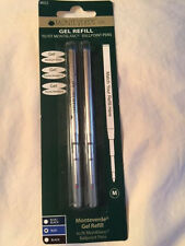 MONTBLANC BY MONTEVERDE BALLPOINT MEDIUM Point Refill BLUE 2 Pack NEW M432 88427