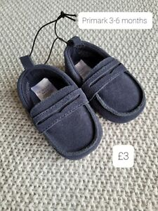 Baby Boys Shoes 3-6 Months Primark