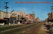 Tijuana méxico baja américa ak ~ 1960/70 Main Street Oldtimer cars coches calle