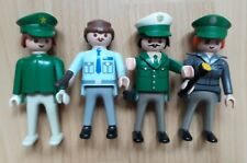 Diverse Playmobil Figuren Polizist Bauarbeiter Cowboy Ritter Wanderer Wolf