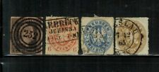 Germany Prussia #2,16,18,20 Used