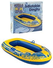 """56"""" Boat Dinghy Inflatable Swimming Pool Toy Kids Adult Garden Summer Beach Fun"""