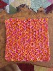 Crochet DishCloths.face Cloth.wash Cloth.size 8x8 Inches.multicoloured.shell
