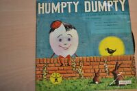 """HUMPTY DUMPTY AND OTHER NURSERY RHYMES    7"""" SINGLE  DANDY RECORDS   VERY RARE"""