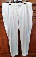 a816ca18767 EUC - ALLISON DALEY II PANTS WOMEN S 20W WHITE - Polyester Spandex Elastic  Sides
