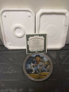 """Mickey Mantle """"Bronx Bomber"""" Collectors Plate 1519B"""