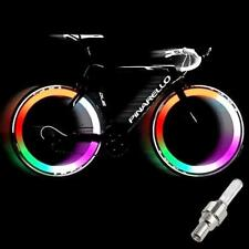 Multicoloured LED Bicycle Bike Valve Light Bike Wheel Light