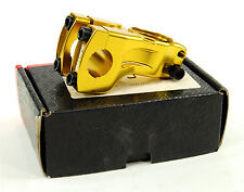 Redline Device G7 BMX Bike Stem 50mm, 22.2mm Clamp, Threadless, Gold
