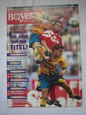 Orig.PRG   1.Bundesliga  1993/94   FC BAYERN MÜNCHEN - BAYER 04 LEVERKUSEN  !!