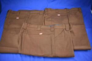 Vintage Coca-Cola Salesman's brown pants 42x26