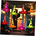 Halloween Witch Hat Lights Decorations - 35Ft 101 LEDs 8 PCS Witch Hats