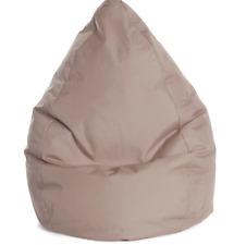 Sitzsack Beanbag Brava L in Khaki Braun 90x70 cm Relaxen Chillen Entspannung