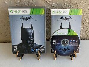 Batman: Arkham Origins (Xbox 360, 2013) Complete CIB 2 Discs - Excellent Discs