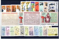 VATICANO-Annata completa 1981 - Francobolli Nuovi Perfetti - MNH **